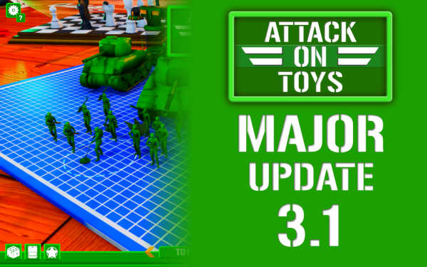 ATTACK ON TOYS 3.1: Semi-Open-World, Squad, Main Game Features, Game Progression, Gamepad and more!