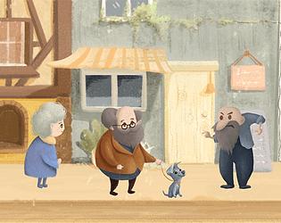 奶奶的一天(中文)