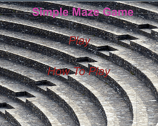 Simple Maze Game