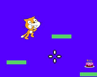 Scratch cat-A platformer