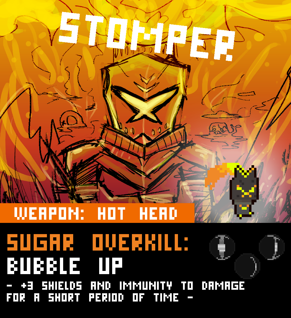 Stomper Character Page