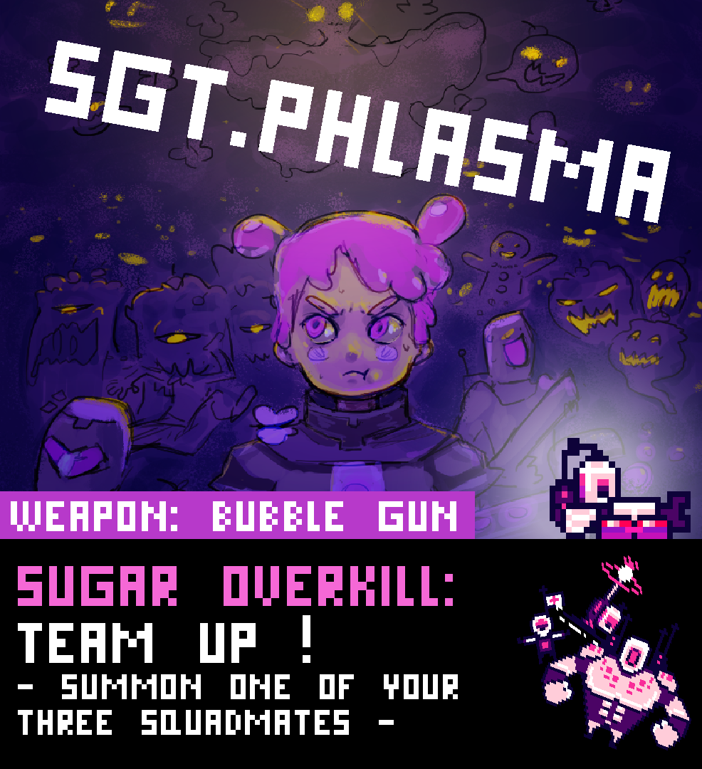 Sgt. Phlasma Character page
