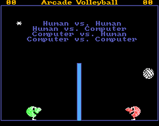 Arcade Volleyball (SMS)