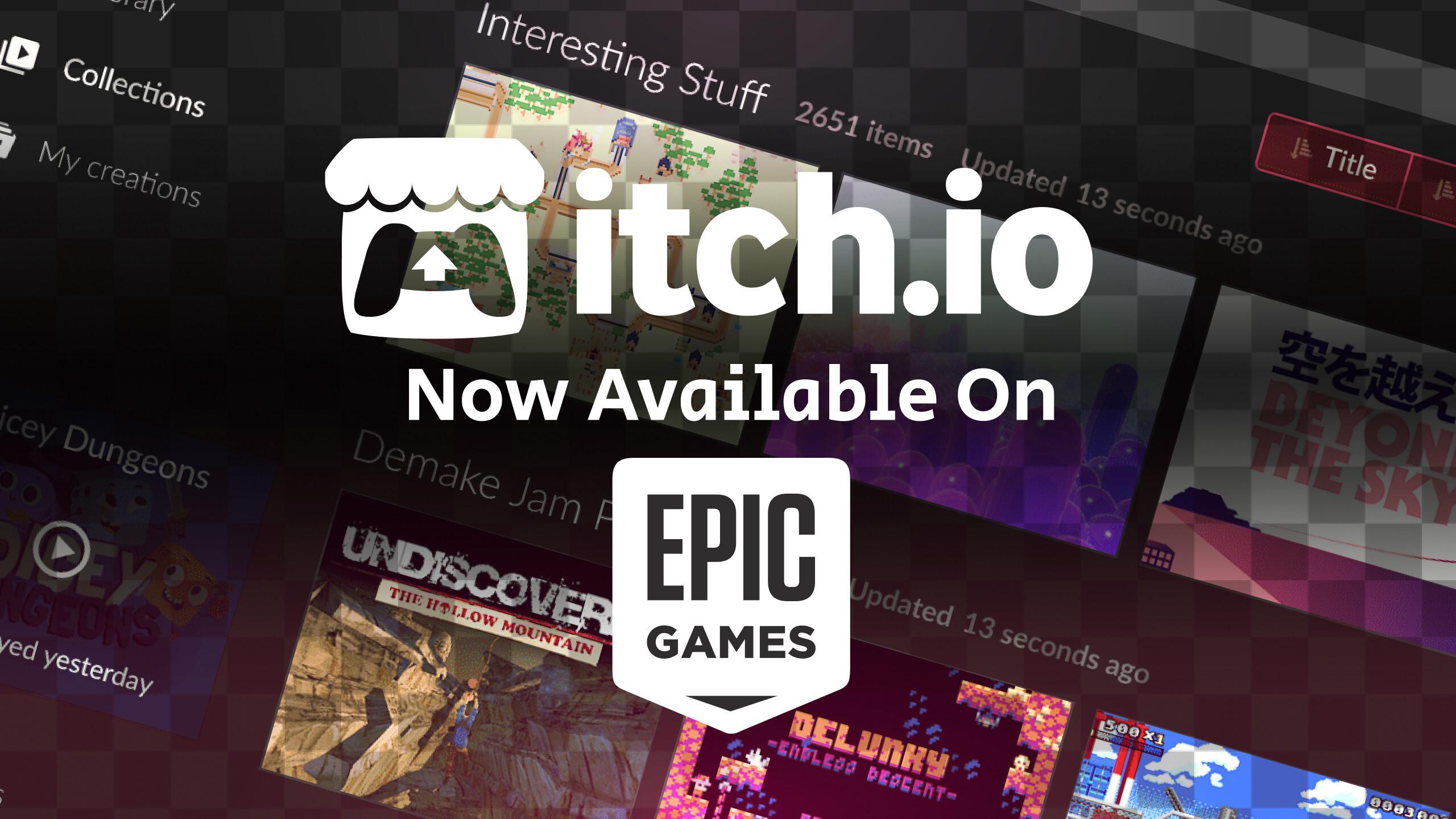 Itch io Epic Game Store App (Free PC Program)