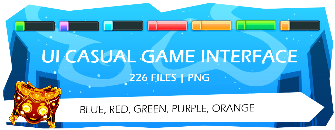 Assets FREE: UI Casual Game Interface