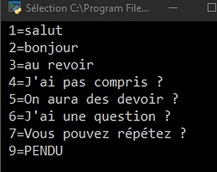 Bot Class Virtual (for french)