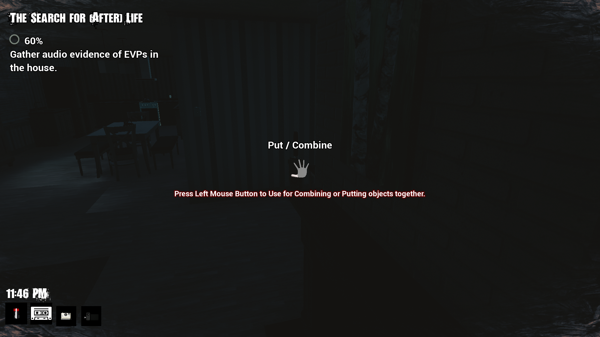Gameplay Screenshot of Item Combining