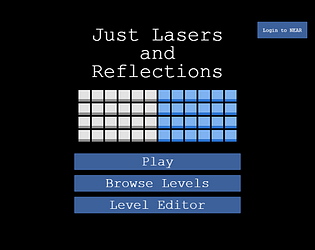 Just Lasers and Reflections