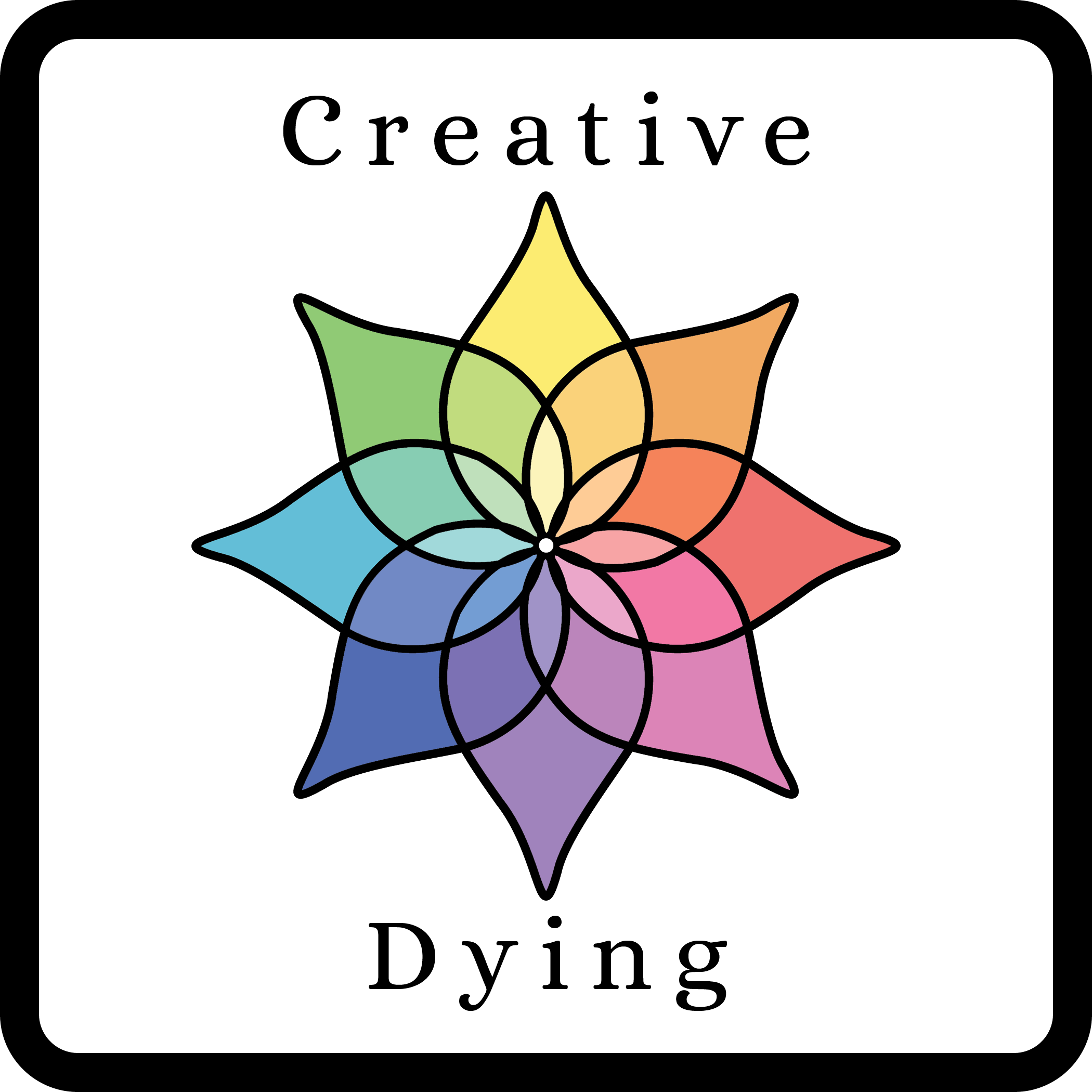 Creative Dying Card Back