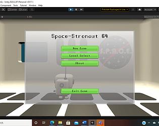 Space Stronaut