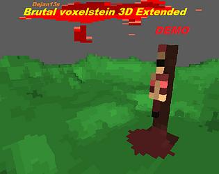 Brutal Voxelstein 3D Extended Demo