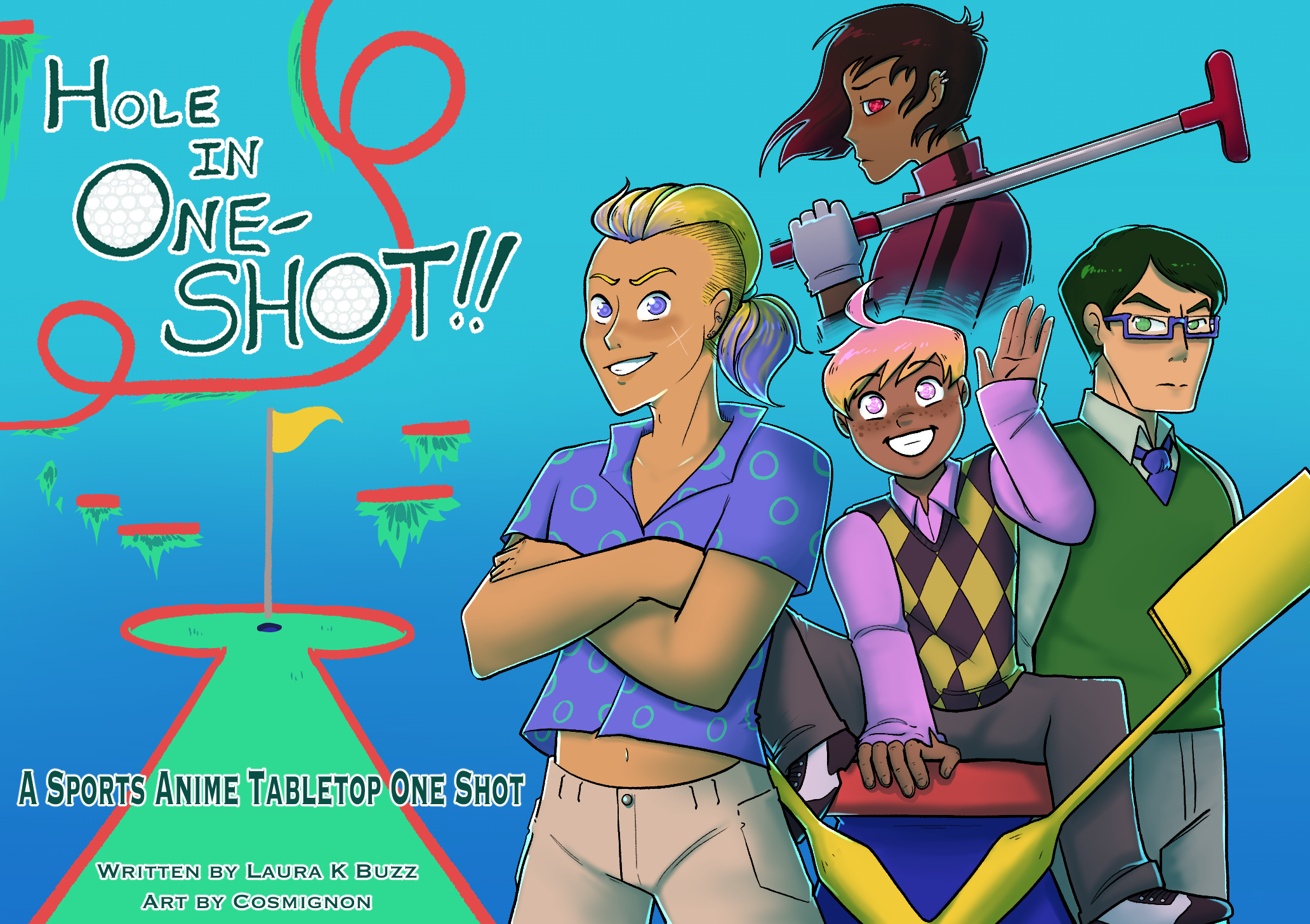 Hole in One-Shot - A Sports Anime Tabletop One Shot