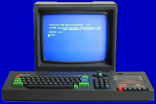 Amstrad 464 64k cassette