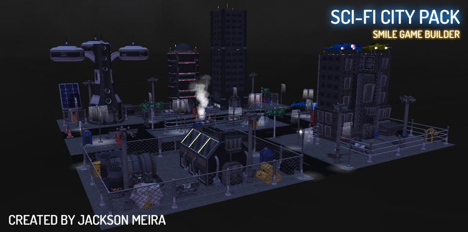 SCI-FI CITY PACK