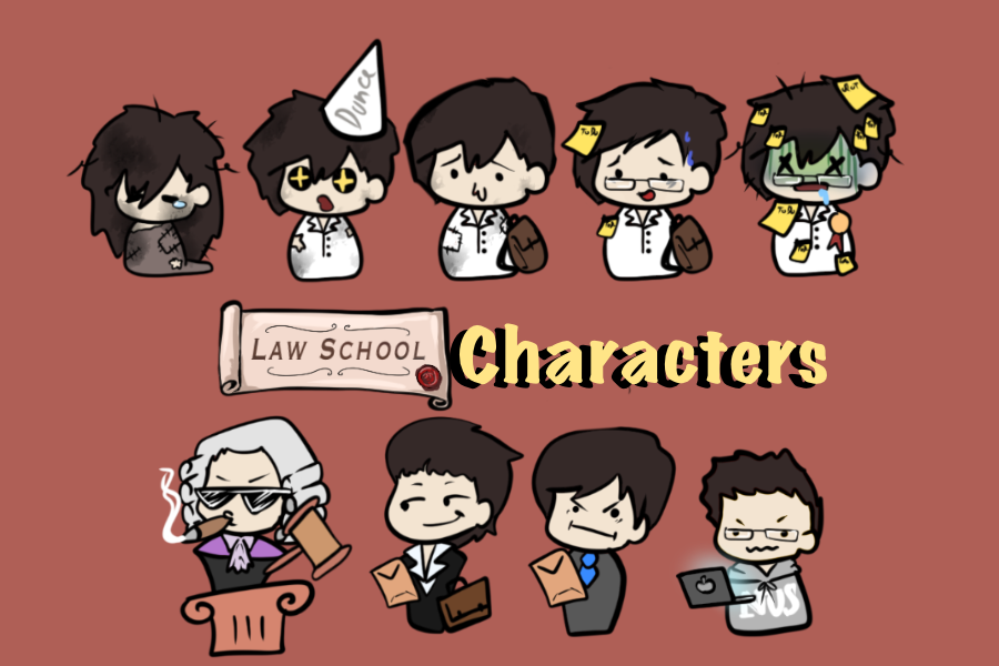 [Art Assets] Law Character Sprites