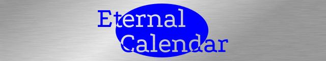 Eternal Calendar