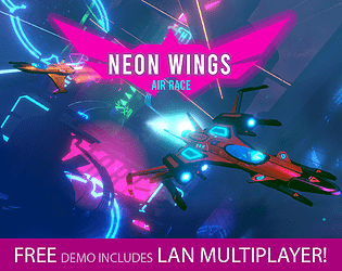 Neon Wings: Air Race [$3.00] [Racing] [Windows] [Linux]