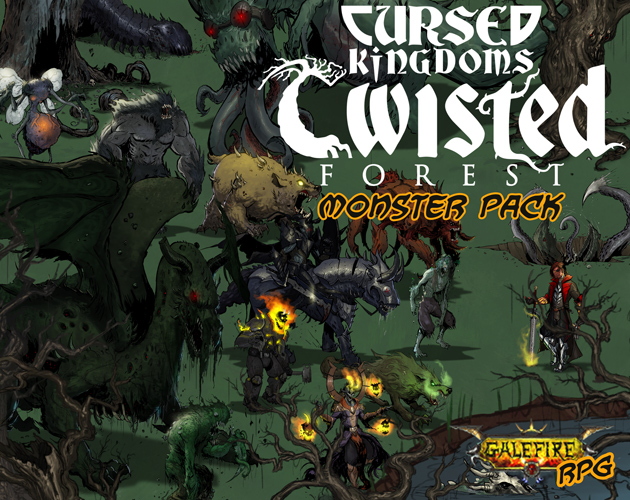 Cursed Kingdoms - Twisted Forest, Monster Pack