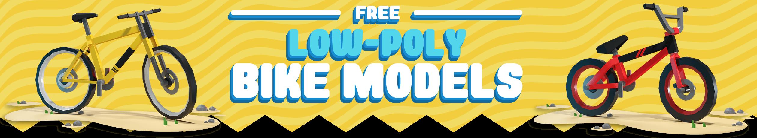Free Low-Poly Bike Models