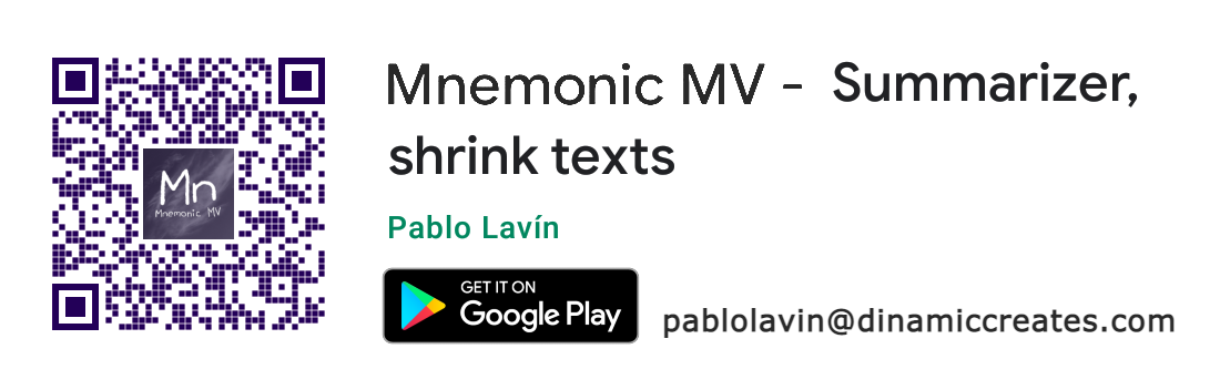 Mnemonic MV
