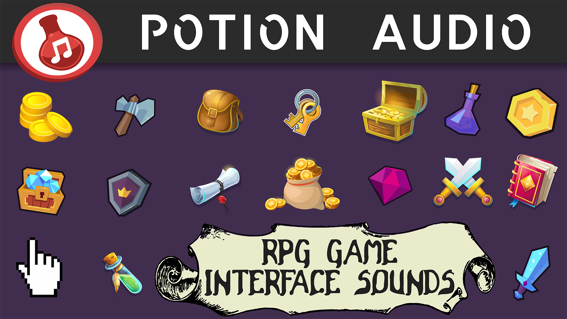 RPG/Fantasy Game - Interface Sounds