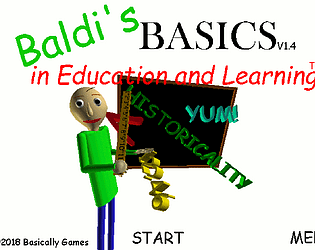 Baldi's Basics without lights!