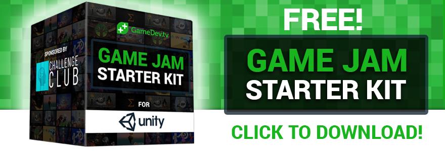 FREE! Game Jam Starter Kit For Unity