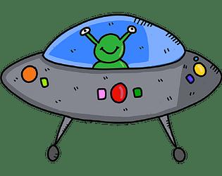 UFO Runner 2D