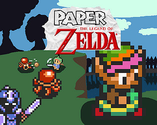 Paper Zelda RPG [Free] [Role Playing] [Windows] [macOS] [Linux]