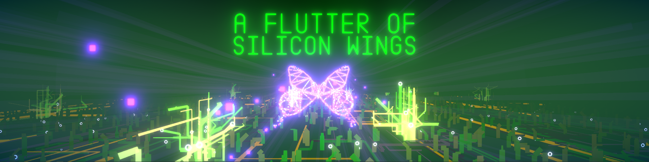 A Flutter of Silicon Wings