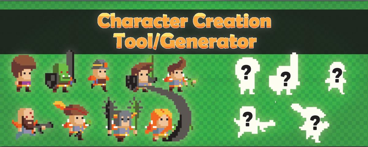 Character creation tool/generator V7
