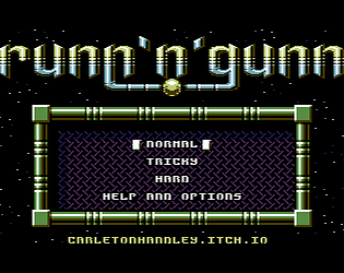 Runn 'n' Gunn (C64) [$3.00] [Action]