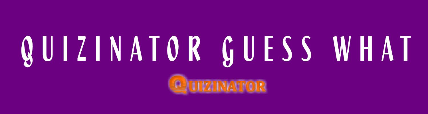 """QUIZINATOR GUESS WHAT"" 4 PICS  1 WORD"