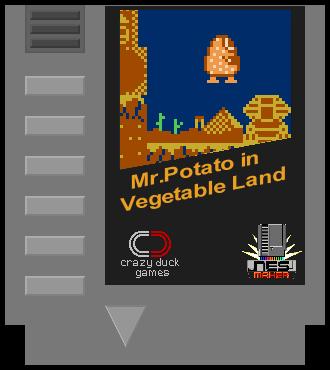 Mr.Potato in Vegetable Land