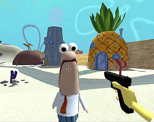 SpongeGlock SquarePants [Free] [Shooter] [Windows]