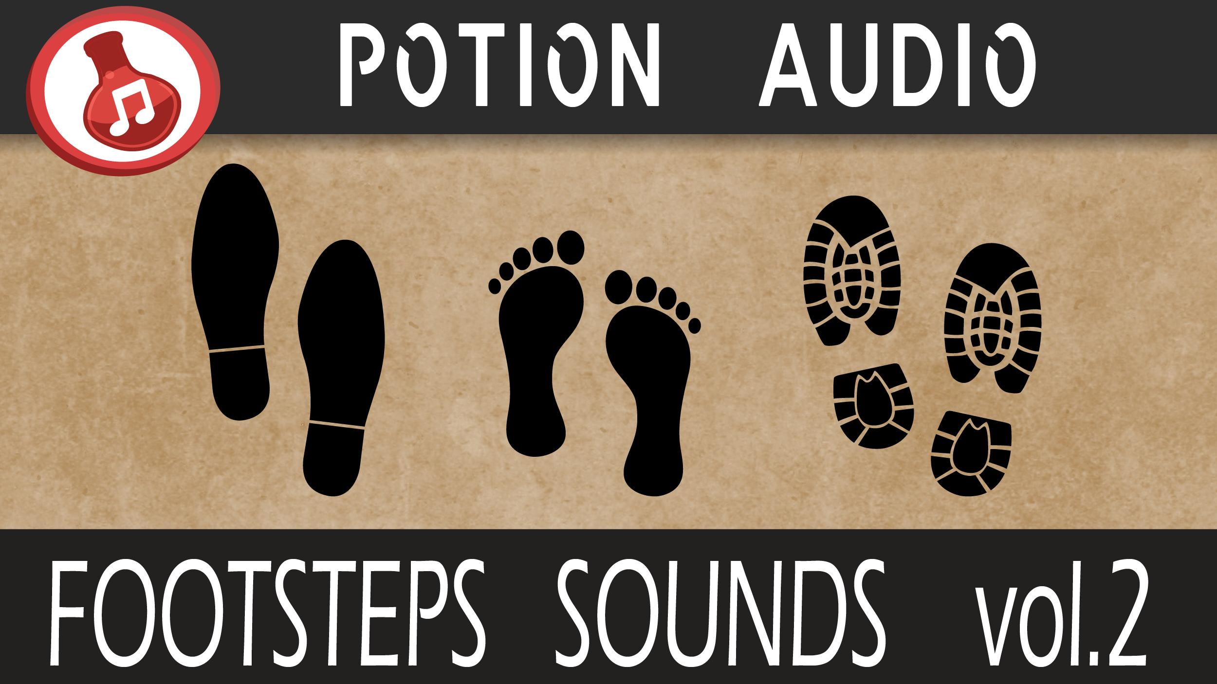 Footsteps Sounds - Volume 2