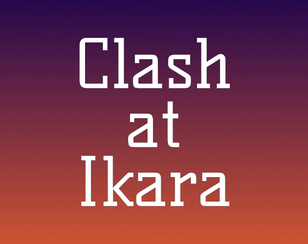 Clash at Ikara logo