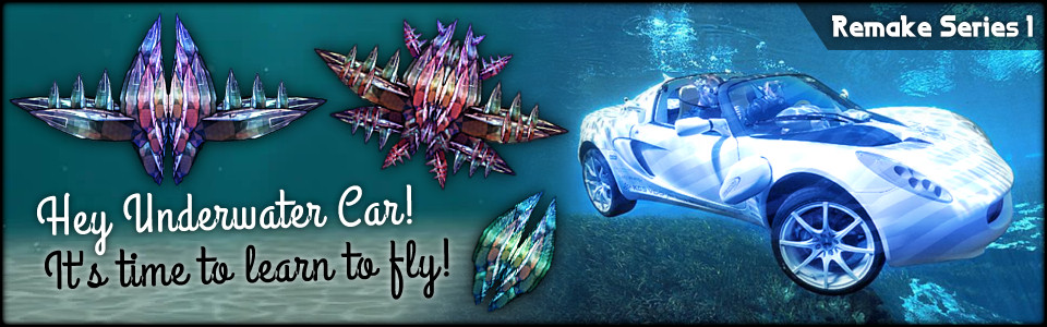 Let's Turn a Swimming Car into a Brutal Space DeathCrab! [Remake #1]
