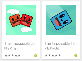 My mobiles Games (Play store)