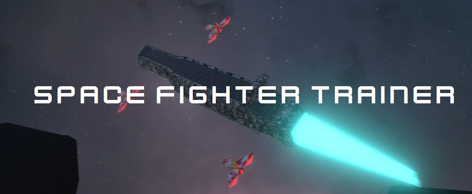 Space fighter trainer (VR + not VR)