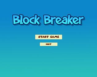 Block Breaker V0.1
