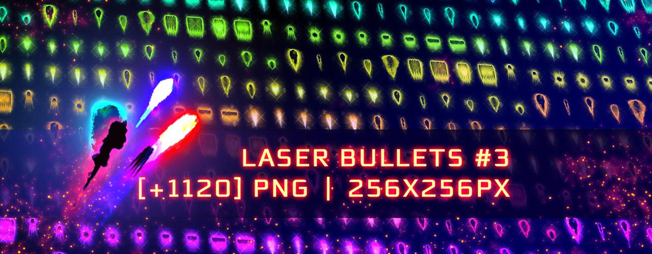 Assets: Laser Bullets #3 [+1120]