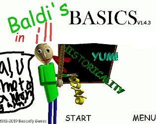 Baldi's Basics in ill (JOKE GAME)