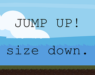 Jump Up! size down.
