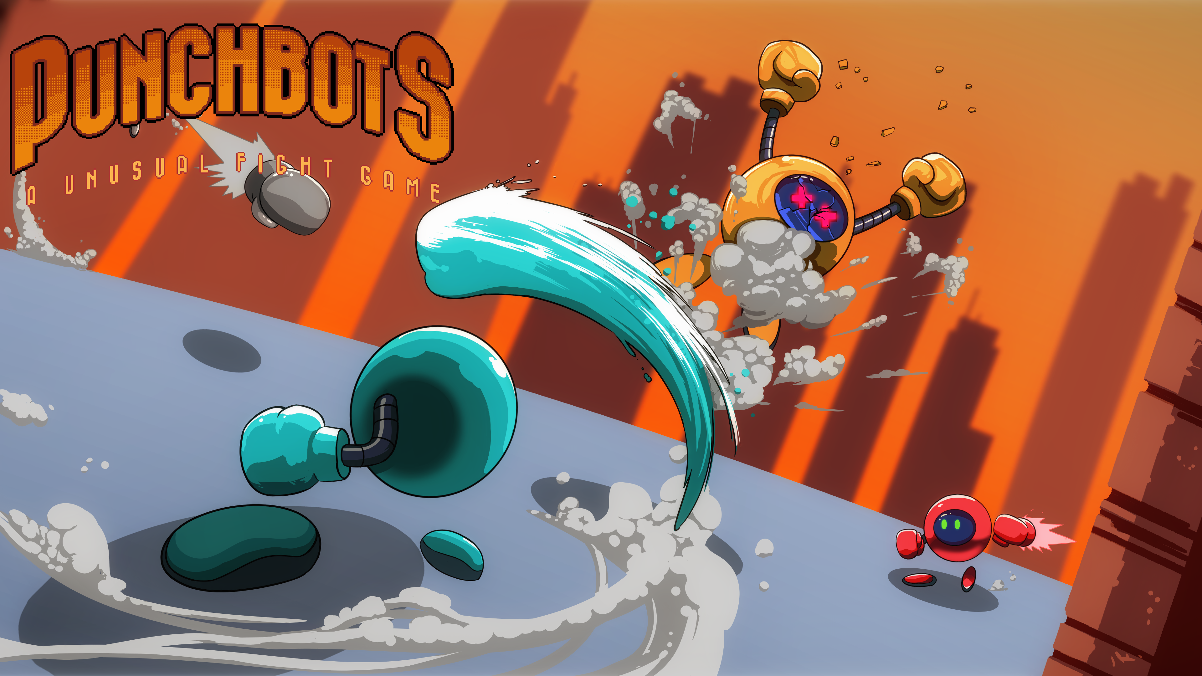 PunchBots: a unusual fight game