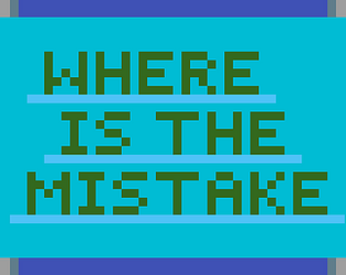 WHERE İS THE MİSTAKE?