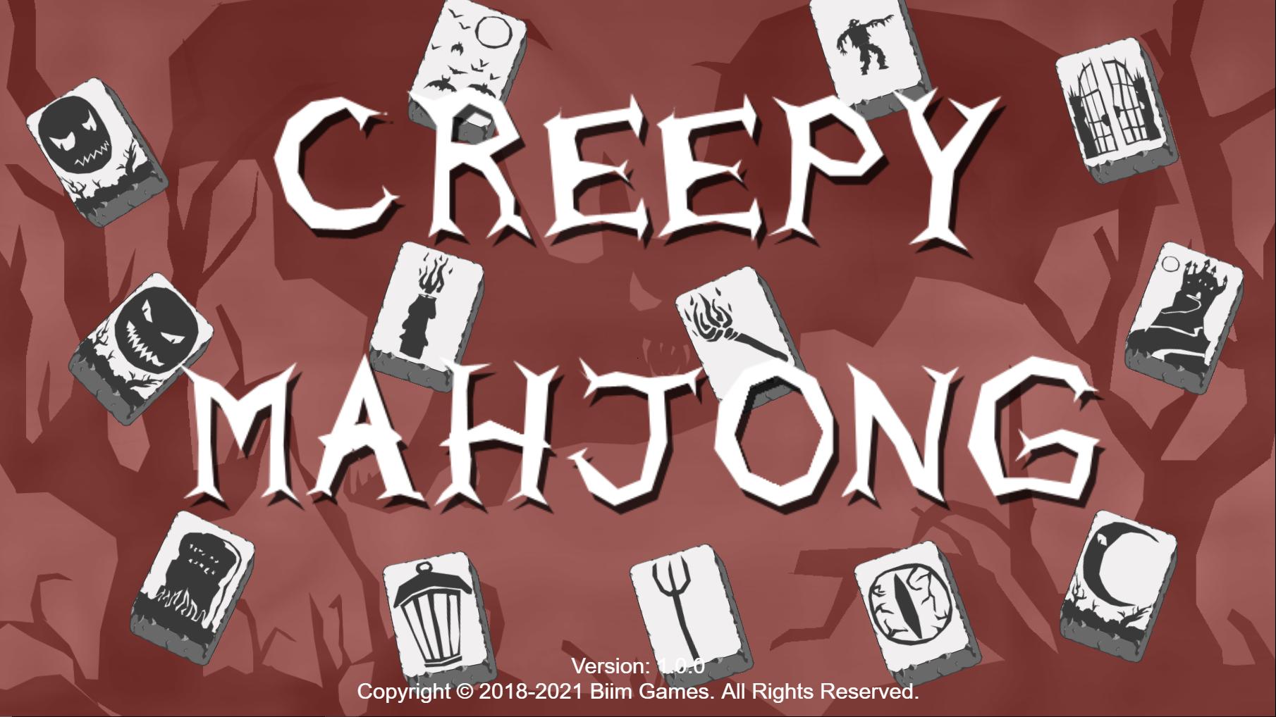 Creepy Mahjong