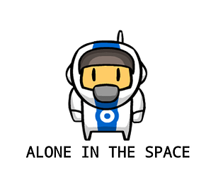 alone in the space #magarajam3