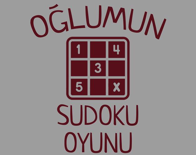 Oglumun Sudoku Oyunu