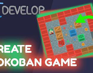 GDevelop Sokoban Game Template
